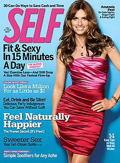 Amanda Peet in Self Magazine