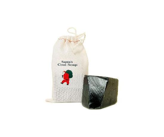 Santa's Coal Soap