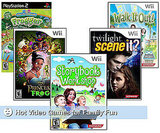 Wii Video Games for Holiday Gifts