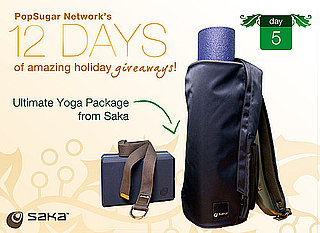 12 Days of Holiday Giveaways, Day 5: Ultimate Yoga Package From Saka!