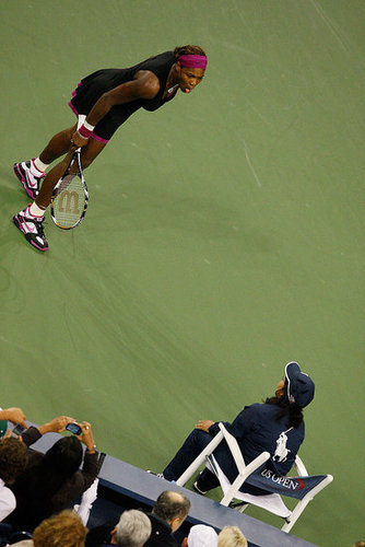 Serena Williams Fined Record Penalty For Unsportsmanlike Behavior at the US Open