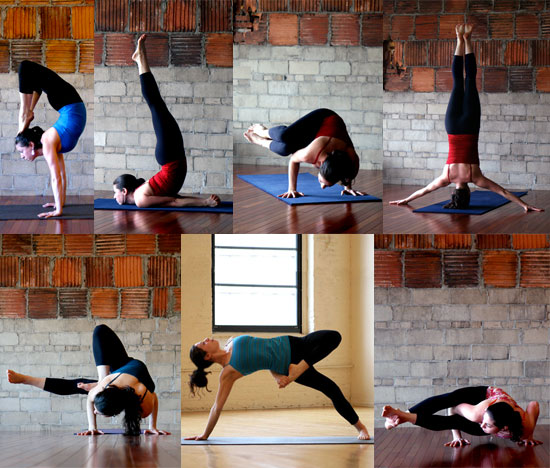 Which pose is the most challenging for you?