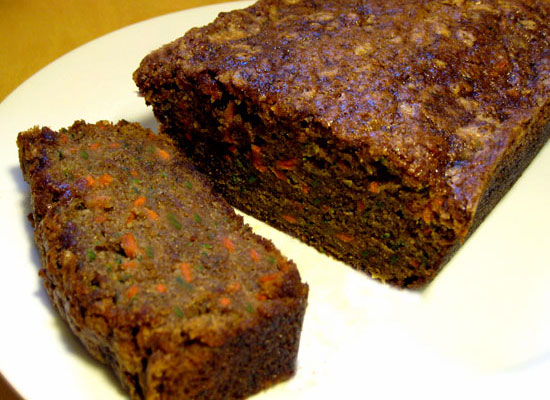 Carrot Zucchini Bread