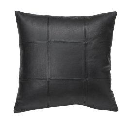Get the look with the Target Genuine Leather Pillow ($20).