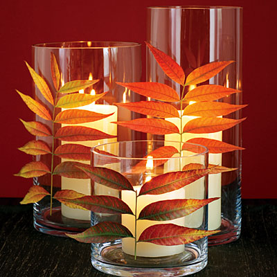 Sunset shows you how to add Fall fire to your candles.