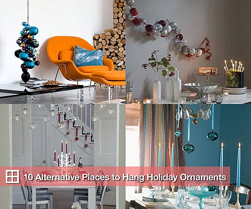10 Alternative Places to Hang Holiday Ornaments