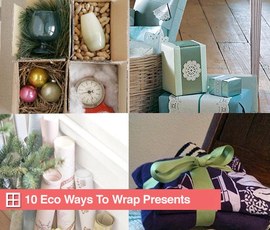 10 Eco Ways to Wrap Presents