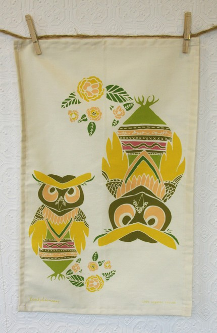 An Owl Tea Towel ($20) will add some cuteness to your kitchen.