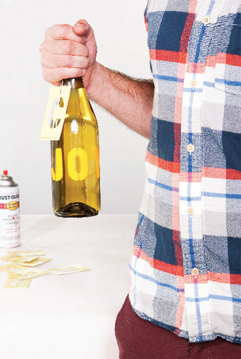 ReadyMade shows you how to turn cheap bottles of wine into covetable gifts.
