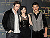 Photos of Robert Pattinson and Kristen Stewart and Taylor Lautner at New Moon Event in Madrid Spain