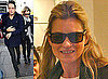 Photos of Kate Moss and Jamie Hince Out in London Trying Sunglasses On