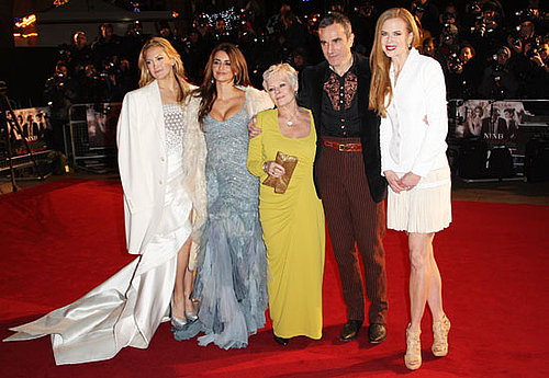 Photos of Kate Hudson, Penelope Cruz, Judi Dench, Daniel Day Lewis and Nicole Kidman at Nine World Premiere in London