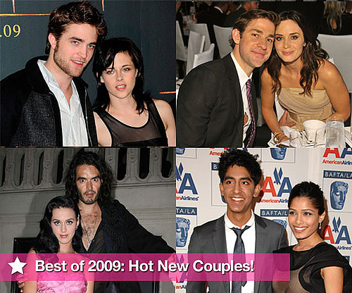 Best of 2009 PopSugarUK Series Hottest New Couples of the Year Featuring Robert Pattinson and Kristen Stewart, Russell and Katy