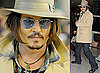 Photos of Johnny Depp in Japan
