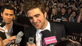 Video of Robert Pattinson at New Moon Premiere 2009-11-17 12:16:38