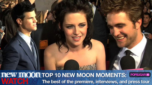 New Moon Interviews and Premiere
