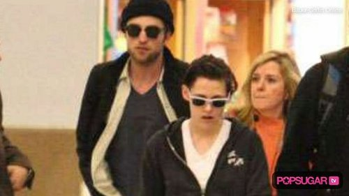 Robert Pattinson and Kristen Stewart in LA