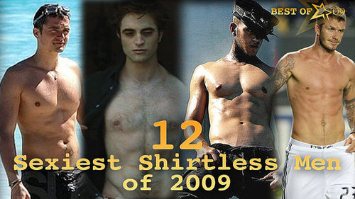 Shirtless Celebrity Men