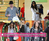 Photos of Channing Tatum, Harrison Ford, Nicky Hilton, Halle Berry, Camila Alves and Levi Shopping For the Holidays