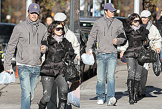 Photos of Fergie and Josh Duhamel Walking in NYC