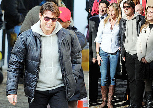 Photos of Tom Cruise And Cameron Diaz Filming Knight And Day in Austria