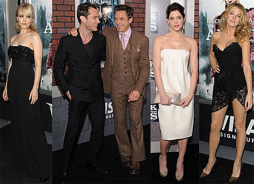 Photos of Rachel McAdams, Ashley Greene, Blake Lively At NYC Premiere of Sherlock Holmes