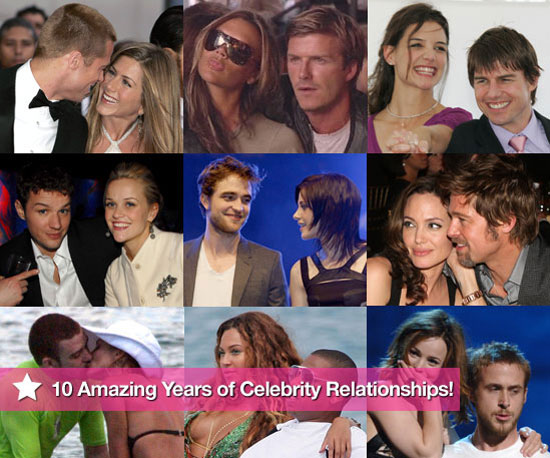10 Years of Celebrity Couples