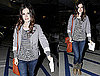 Photos of Rachel Bilson Wearing a Striped Shirt in LA