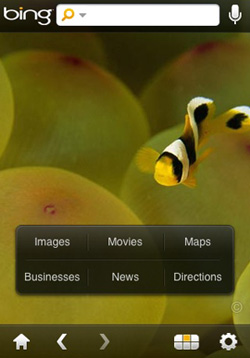 Microsoft's Bing For the iPhone is Awesome