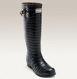 Jimmy Choo Hunter Crocodile Rain Boots