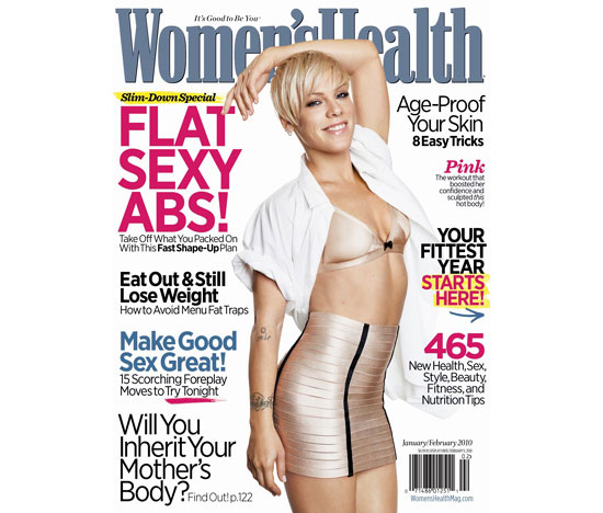 Pink: A Bad-Ass on Stage and at the Gym