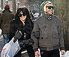 Slide Photo of Pete Wentz and Ashlee Simpson Shopping in NYC on Christmas Eve