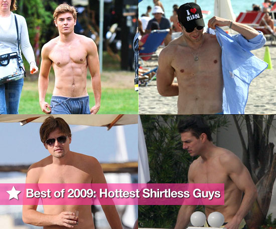 Best of 2009: Hottest Shirtless Guys!