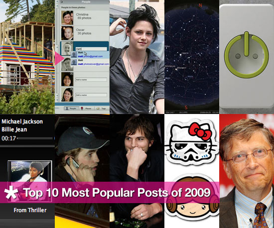 GeekSugar&#039;s Top Stories of 2009 Including the Lego House, Robert Pattinson, Kristen Stewart and Picasa 3.5