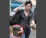 3. Kristen Stewart Has a Pretty Pink BlackBerry