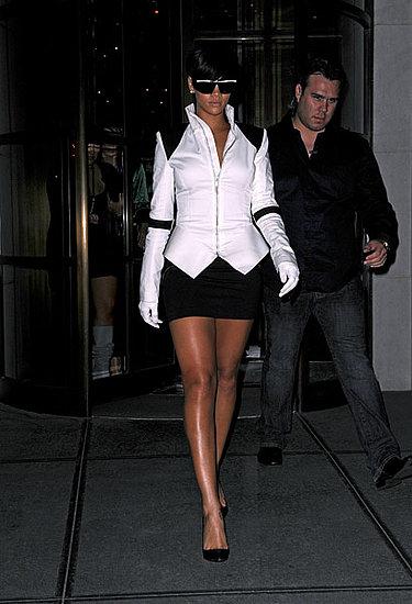 Rihanna in '09