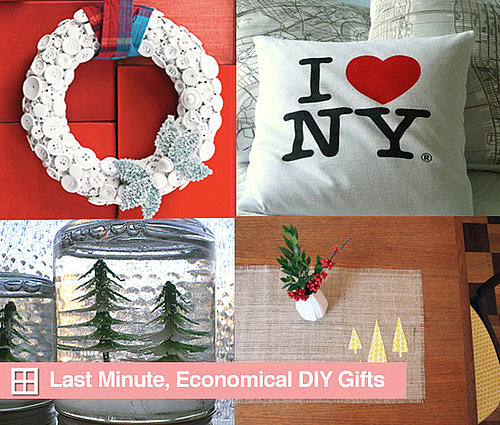 Roundup:  Last Minute, Economical DIY Gifts