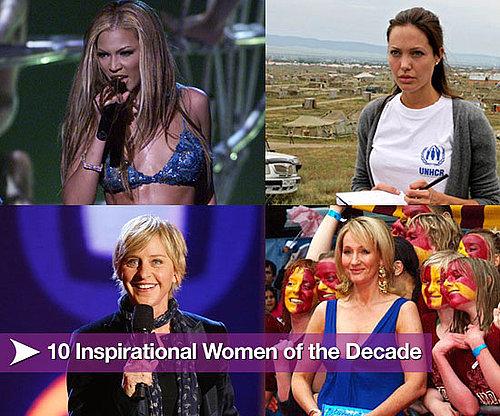 10 Inspirational Women of the Decade