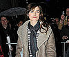 Slide Photo of Keira Knightley Leaving a Theater in London