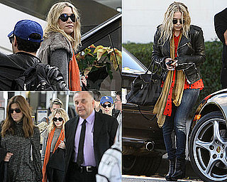 Photos of Mary-Kate And Ashley Olsen Out Separately in LA