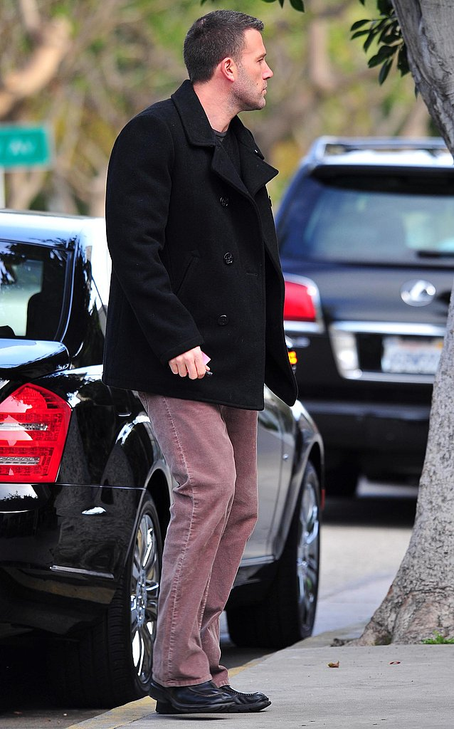 Photos of Ben Affleck Grabbing Coffee