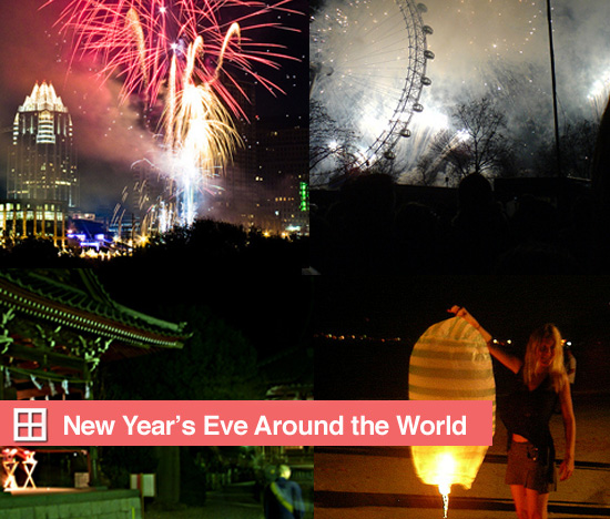 Roundup:  New Year's Eve Around the World