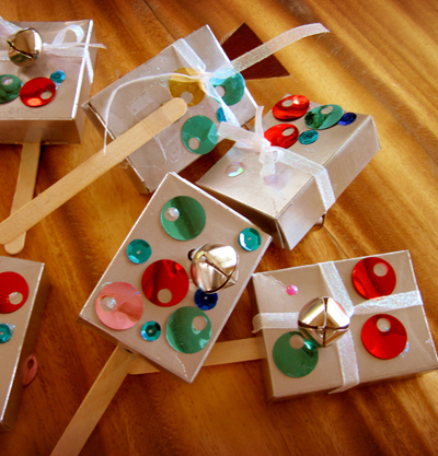 Alpha Mom shows you how to make noisemakers for New Year's Eve.