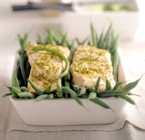 Lime-Steamed Salmon