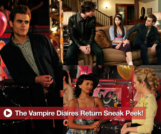 The Vampire Diaries Return Sneak Peek!