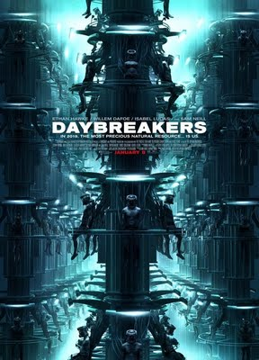 Daybreakers Vampire Horror Movie Starring Ethan Hawke and Willem Defoe Opens This Friday January 8, 2010