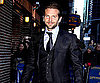 Slide Photo of Bradley Cooper Going To David Letterman Show
