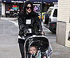 Slide Photo of Ashlee Simpson with Bronx Wentz in NYC