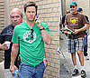 Photos of Mark Wahlberg and Will Ferrell in NYC Ahead Of Filming The Other Guys