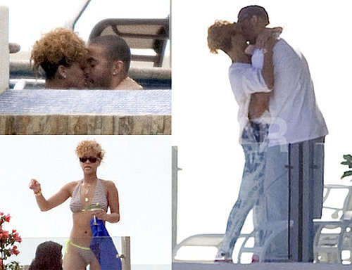 Photos of Rihanna With Matt Kemp in a Bikini Vacationing in Mexico